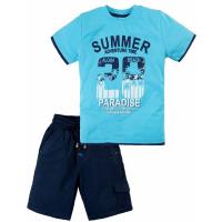 20-34401 Костюм для мальчика, 2-5 лет, голубой