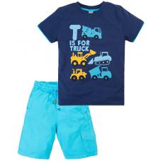 020-34402 Костюм для мальчика, 2-5 лет, синий