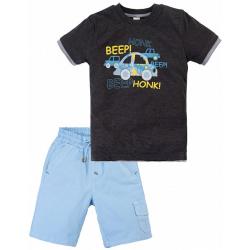 20-34403 Костюм для мальчика, 2-5 лет, антрацит-меланж
