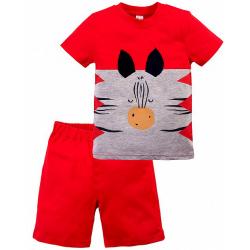 """20-35102 """"Funny"""" Костюм для мальчика, 1-4 года, красный"""