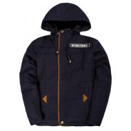 20-401801 Куртка-ветровка для мальчика, 8-10 лет, т-синий