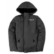 20-401802 Куртка-ветровка для мальчика, 8-10 лет, т-серый