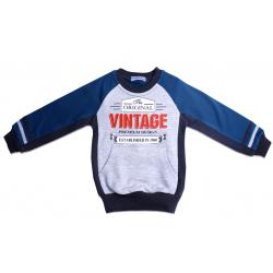 """20-49003 """"Vintage"""" Толстовка для мальчика, 2-6 лет"""