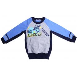 "20-49005 ""Aircorp"" Толстовка для мальчика, 2-6 лет"