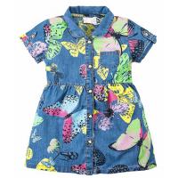 20-63801 Платье джинсовое для девочки, 2-5 лет