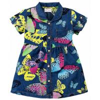 20-63802 Платье джинсовое для девочки, 2-5 лет