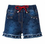 20-658 Джинсовые шорты для девочки, 2-5 лет