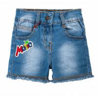 20-682 Джинсовые шорты для девочки, 3-7 лет