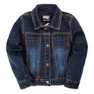 """20-75901 """"Мишка"""" Куртка джинсовая для девочки, 2-6 лет"""