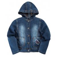 """20-761 """"Париж"""" Куртка джинсовая для девочки, 6-9 лет"""
