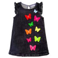 20-76801 Платье джинсовое, 2-5 лет
