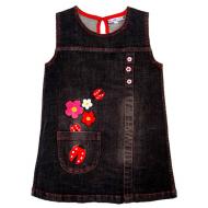 20-76802 Платье джинсовое, 2-5 лет