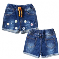 20-770 Джинсовые шорты для девочки, 2-5 лет