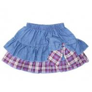 20-775 Юбка джинсовая для девочки, 2-6 лет