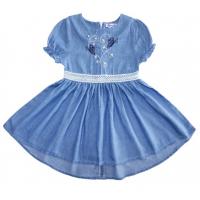 20-780 Платье джинсовое для девочки, 2-6 лет