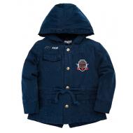 20-82503P Парка для мальчика, 3-6 лет, т.синий