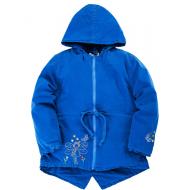 20-83002P Парка для девочки, 7-10 лет, синий