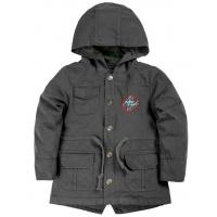 20-84601 Куртка-парка для мальчика, 1-4 года, т.серый