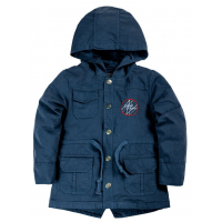 20-84602 Куртка-парка для мальчика, 1-4 года, синий