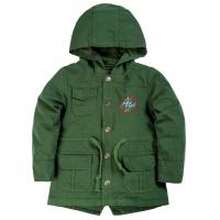 20-84603 Куртка-парка для мальчика, 1-4 года, хаки