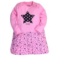20-85770 Платье для девочки со стразами, 2-6 лет