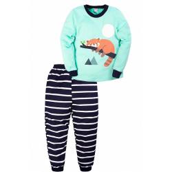 """20-97701 """"Енот"""" Пижама для мальчика, 3-7 лет, ментоловый"""