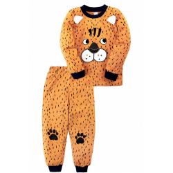 """20-97705 """"Тигр"""" Пижама для мальчика, 3-7 лет, коричневый"""