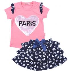 """20-98801 """"PARIS"""" Комплект с юбкой, 3-7 лет, розовый"""