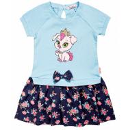 020-99705 Платье для девочки, 2-6 лет, св-голубой
