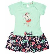 020-99703 Платье для девочки, 2-6 лет, минт