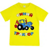 45-140184 Футболка для мальчика, 1-4 года, желтый