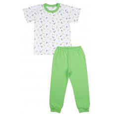 """0338 ЛЕО Комплект домашний для мальчика """"Морской"""" (футболка+штанишки)"""