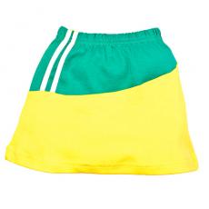 """1532-203 """"Спорт"""" Юбка для малышки, желтый"""