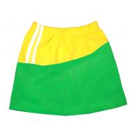 """1532-204 """"Спорт"""" Юбка для малышки, зеленый"""
