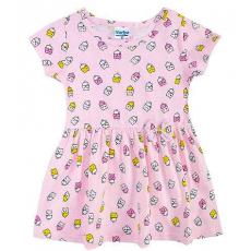 22-470601-5 Платье для девочки, 4-7 лет, св-розовый