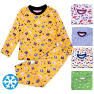 15-158001 Пижама детская с начесом, 1-5 лет