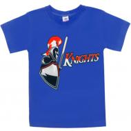 """15-590103 """"Рыцарь"""" футболка для мальчиков 5-9 лет, синий"""