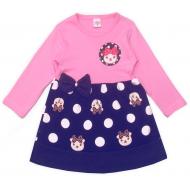"""47-2569805 """"Милашка"""" Платье для девочки, розовый"""