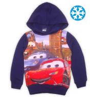 47-371104 Толстовка с капюшоном для мальчика, 3-7 лет, синий