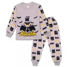 47-378106 Пижама для мальчика, 3-7 лет, серый