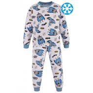 47-378110 Пижама утепленная для мальчика, 3-7 лет