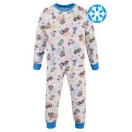 47-378111 Пижама утепленная для мальчика, 3-7 лет