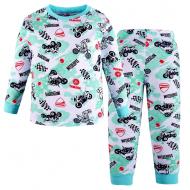 47-378116 Пижама для мальчика, 3-7 лет, мята