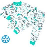 47-378210 Пижама утепленная для девочки, 3-7 лет