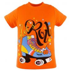 47-580201-13 Футболка для девочки, 5-8 лет, оранжевый