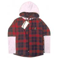 47-6149106 Рубашка с капюшоном для мальчика 6-14 лет