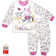 TR-138207 Пижама для девочки, 1-3 года