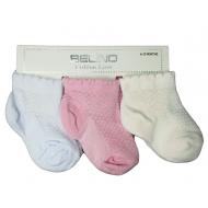 J74 Belino Носки для новорожденных ажурные (девочки)
