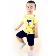 TR-0122-2 Костюм для малыша, желтый