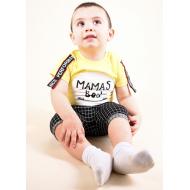 TR-0125-2 Костюм для малыша, желтый